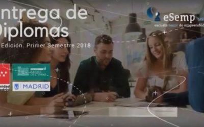 Entrega de Diplomas eSemp JUNIO 2018